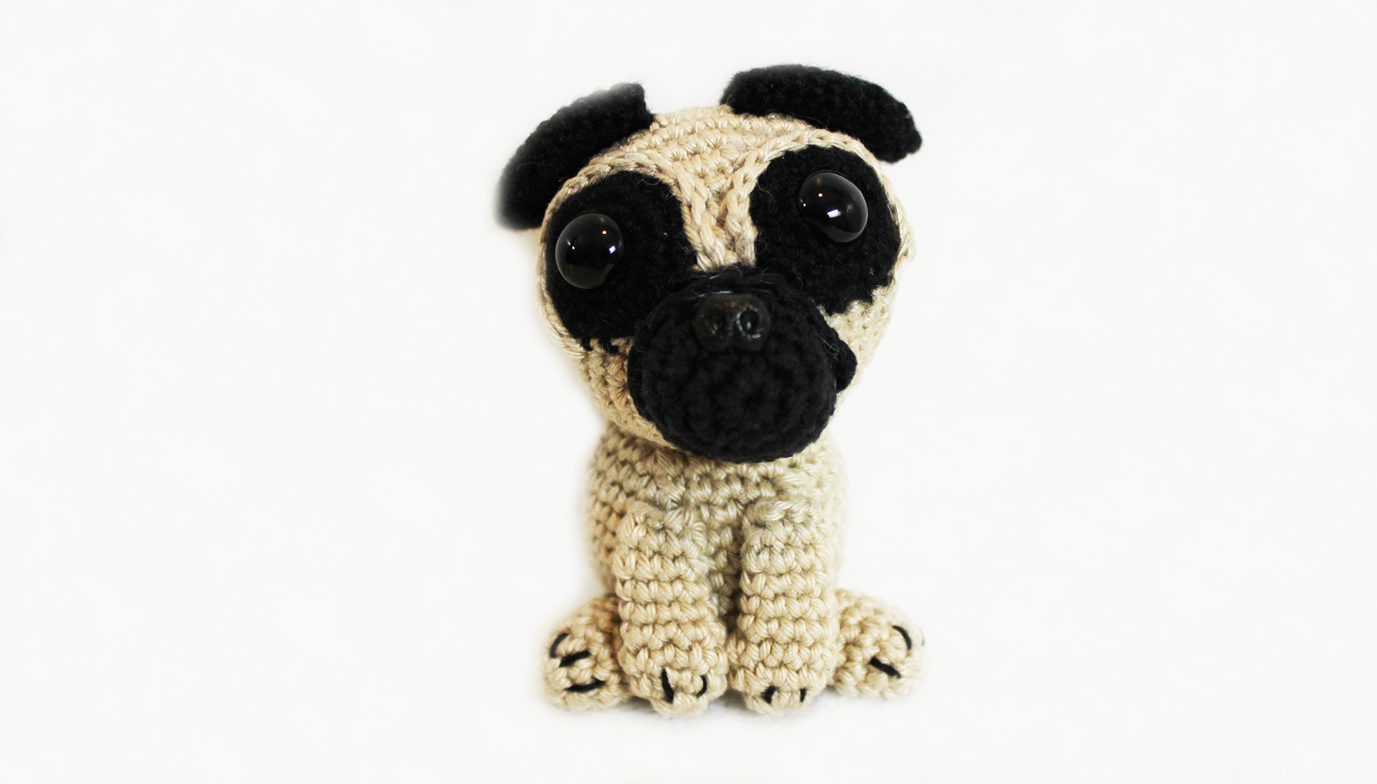 Free Crochet Pattern For Pug Dog : Pug pattern - free amigurumi pug crochet pattern