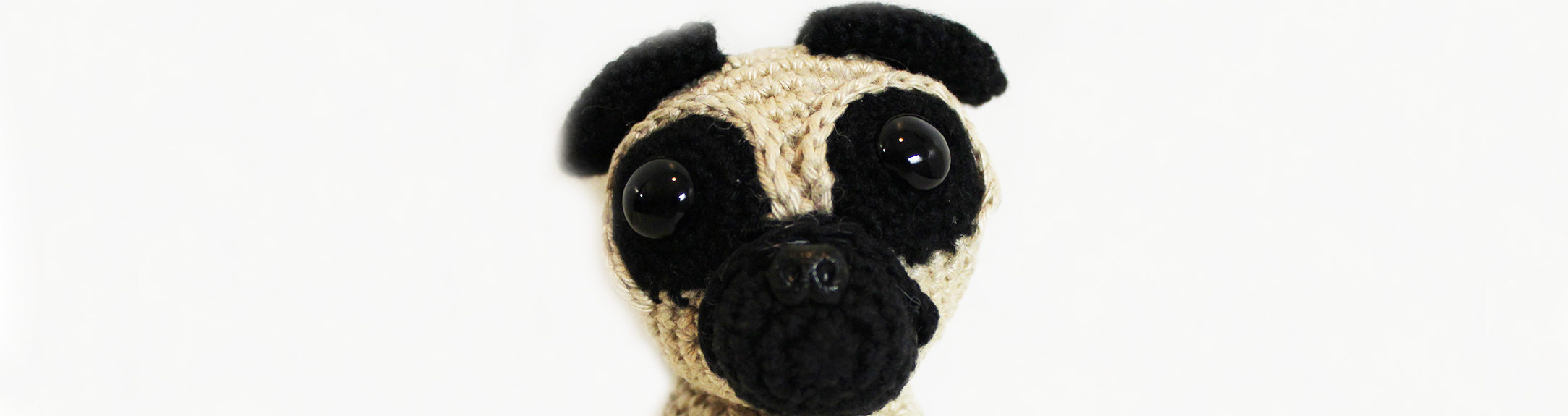 Free crochet pattern pug dog