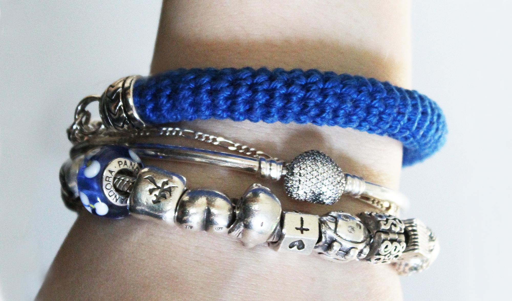 Free crochet pattern bracelet