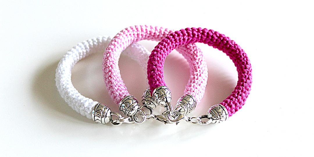 Crochet Bracelet Free Crochet Pattern By Wilmade