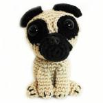 Free crochet pattern pug
