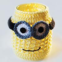 Free crochet pattern minion jar