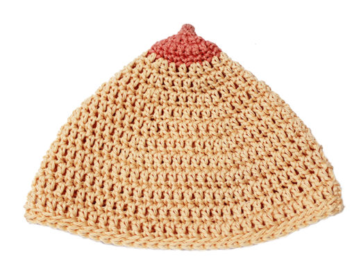 Breastfeeding hat crochet