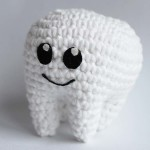Free crochet pattern tooth molar