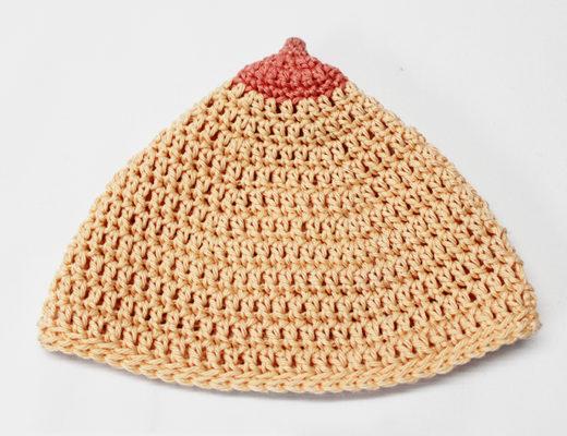 Free crochet pattern breastfeeding hat