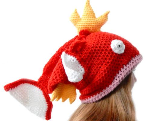 magikarp pokemon hat crochet
