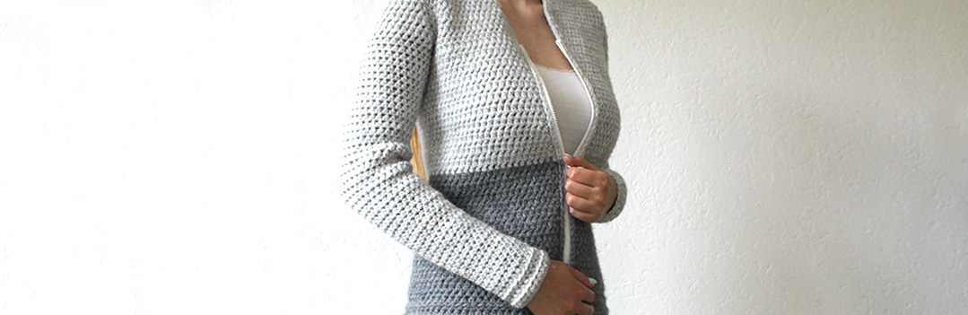 Free crochet cardigan pattern - simple pattern by Wilmade