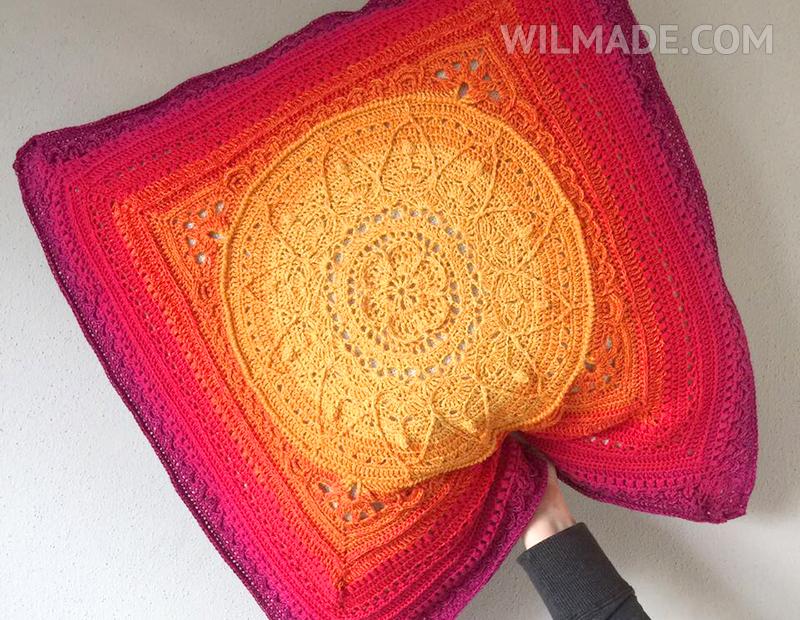 Sophie's Garden pillow XXL Crochet