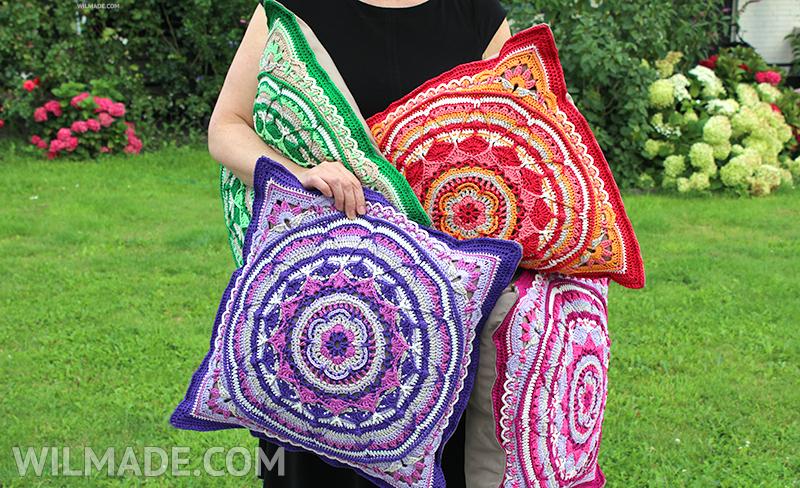 Sophies garden pillow xxl