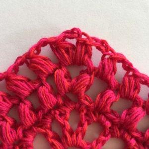 Bella Vita Shawl free crochet pattern