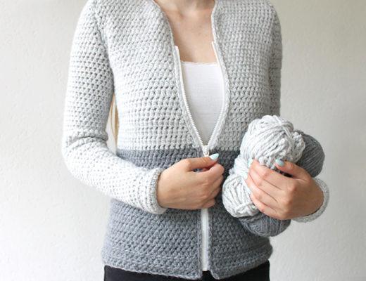 Crochet cardigan - free crochet pattern