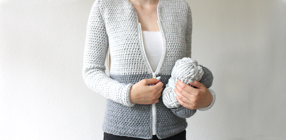 Free Crochet Cardigan Pattern Simple Pattern By Wilmade