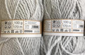 yarn i used for my free crochet cardigan pattern