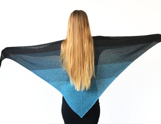 never ending shawl free crochet pattern