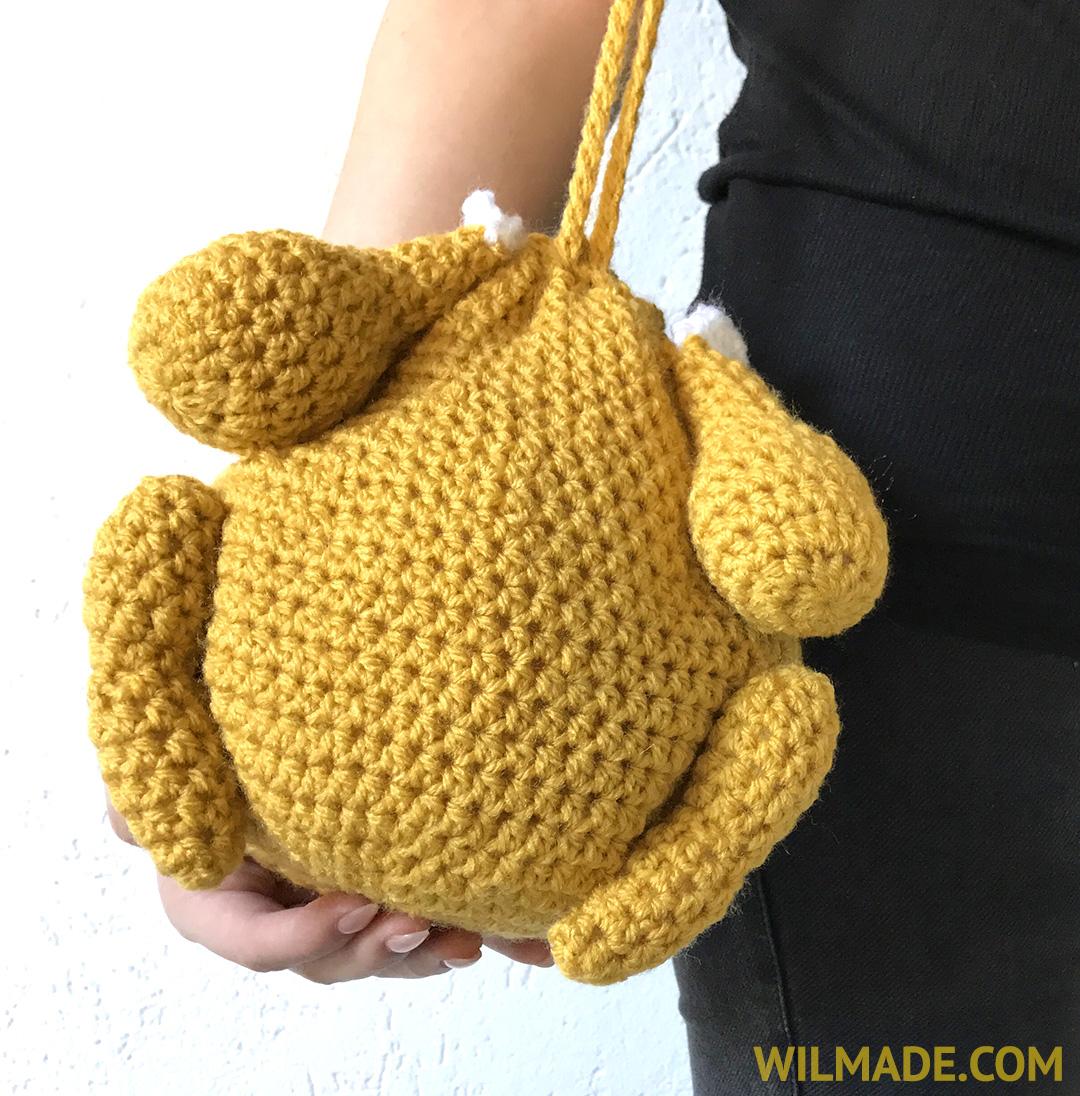 Thanksgiving purse - free pattern crochet