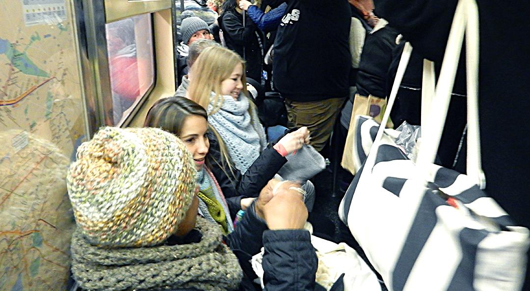 Subway storm vogue knitting live new york 2018 2