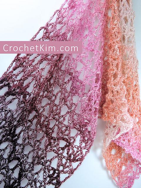 free crochet pattern Berry Bubblegum Fling by Kim Guzman