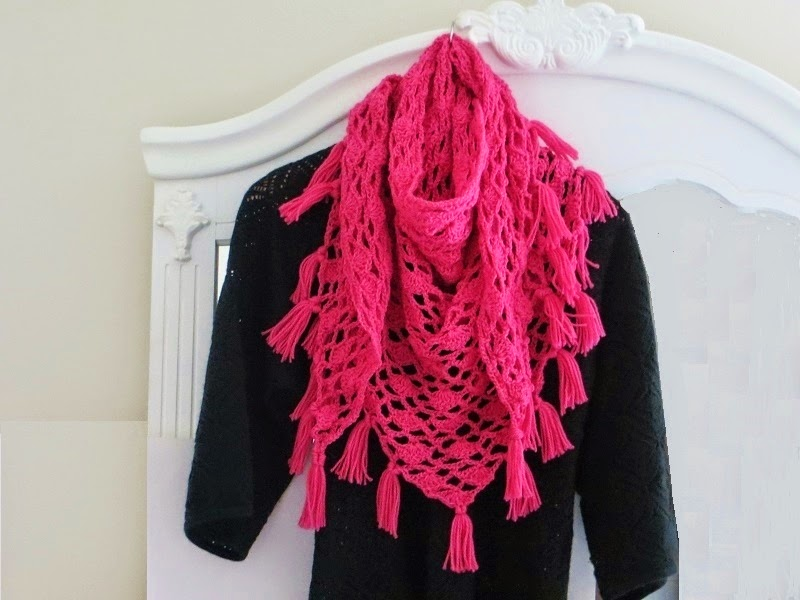 free crochet shawls for spring Lacy Scarf Crochet Pattern by crochetdeeamz