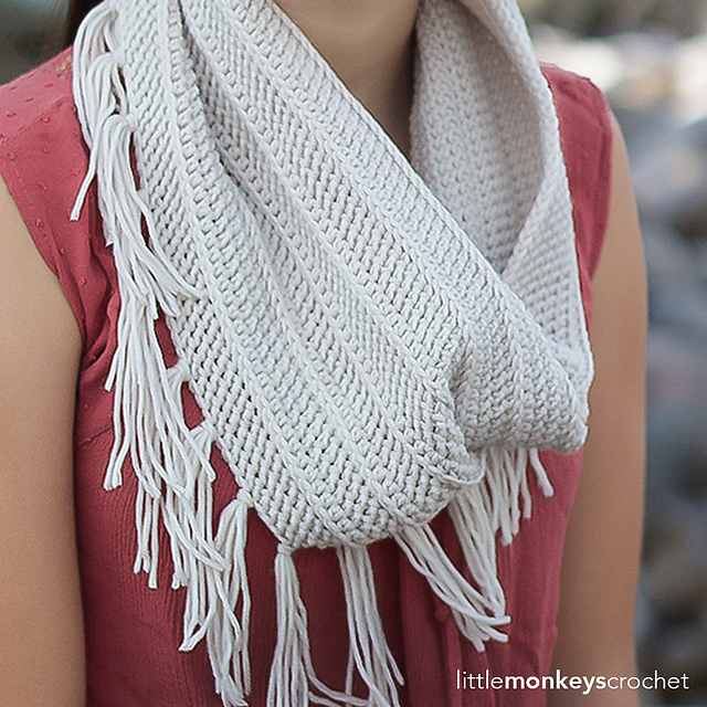 free crochet shawls for spring Shiplap cowl by rebecca langford