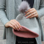simple double brim hat free crochet patterns
