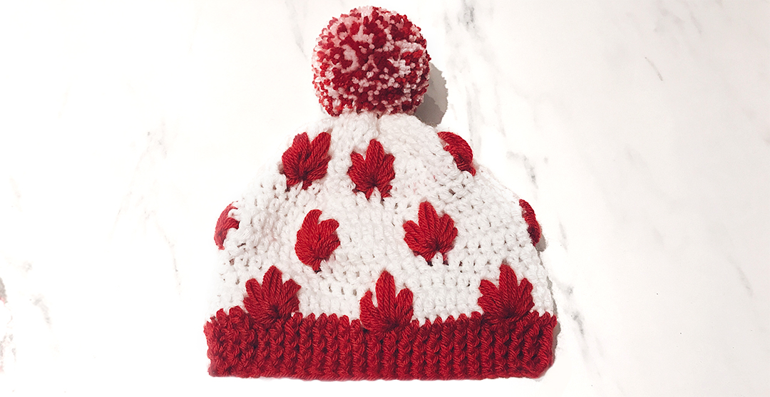 Canadian Patriotic Hat Free Canada Hat Pattern By Wilmade