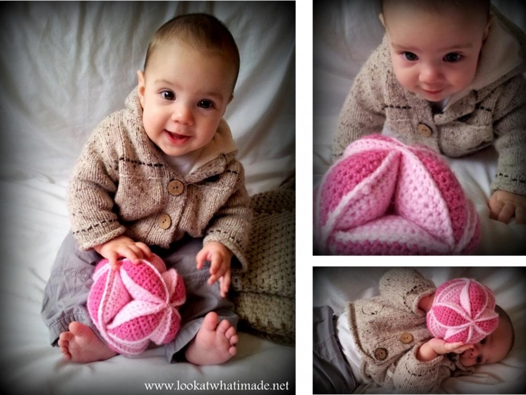 Crochet Amish Puzzle Ball look at what i made - free baby crochet patterns