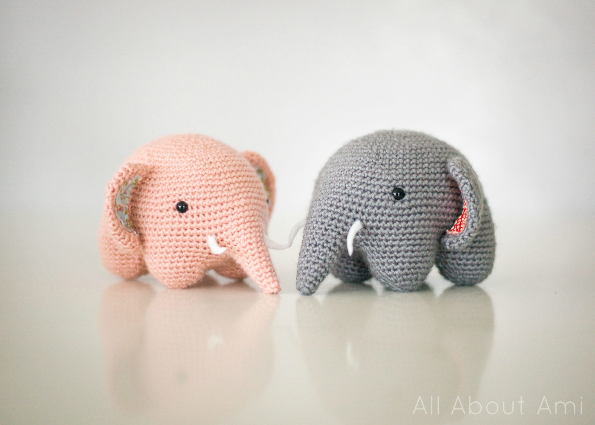 cute baby elephant by allaboutami - free baby crochet patterns