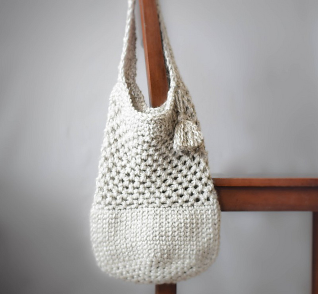 Manhattan Market Tote by Jessica Reeves Potasz Mother's day crochet patterns