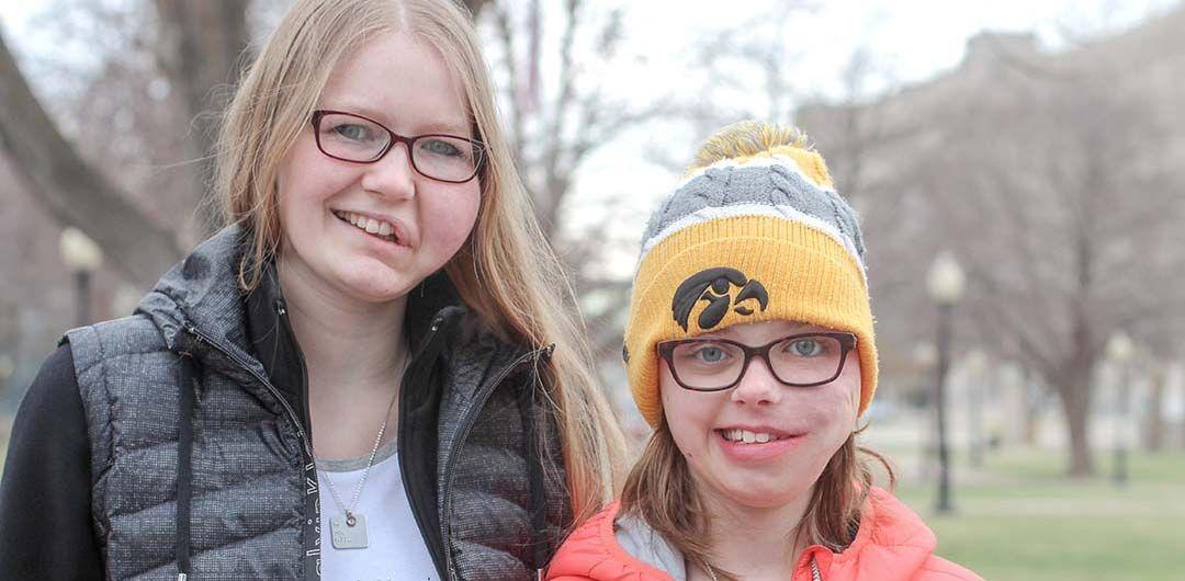 Meeting Josie who has the same rare condition