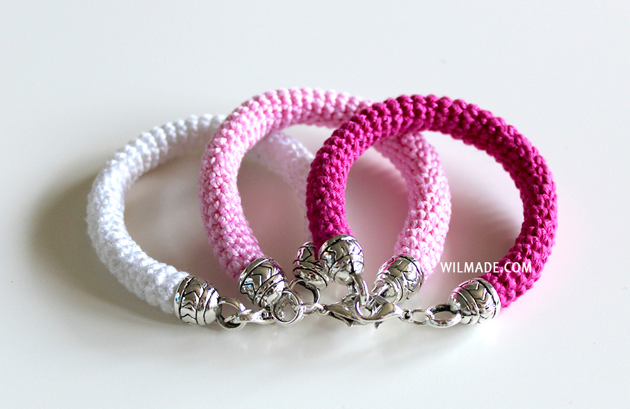 free crochet pattern bracelet Mother's day crochet patterns