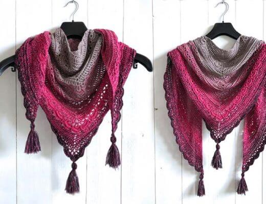 Ana Lucia Shawl - a free crochet shawl pattern by Wilmade
