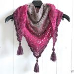 Ana Lucia Shawl by Wilmade - a free crochet shawl pattern