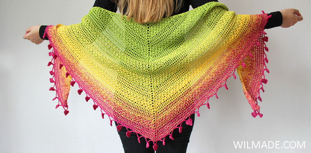 283b067c6 10 free crochet shawls for summer - free pattern roundup by Wilmade