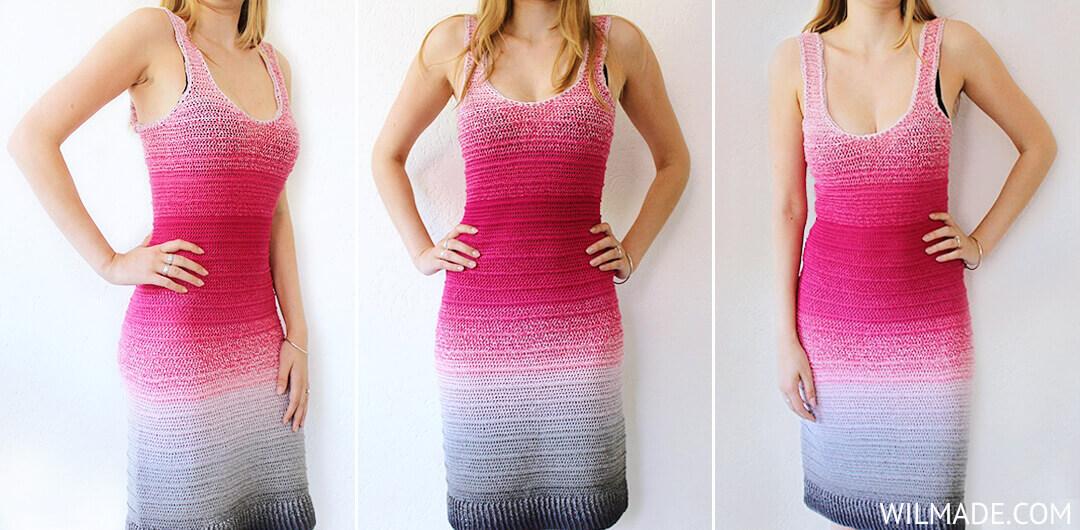 Jurk Haken Simple Dress To Impress Gratis Haakpatroon Van Wilmade