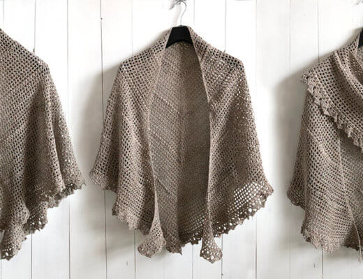 Durable Friendship Shawl - free crochet pattern