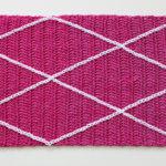 Miss Mille Scarf - free crochet scarf pattern - diamond shape overlay
