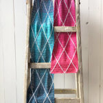 Miss Mille Scarf - free crochet scarf pattern - ladder 2