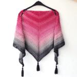 This Is Me Sjaal - gratis sjaal haakpatroon gemaakt met Scheepjes Whirl