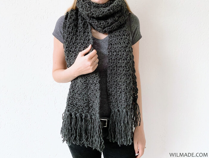 Fast Crochet Scarf Awesome Andrea Free Crochet Pattern By Wilmade