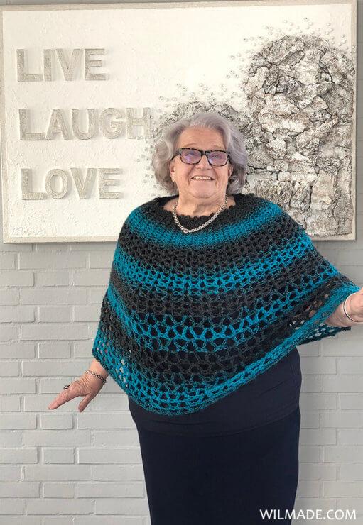 Poncho Crochet Pattern Free Crochet Pattern By Wilmade