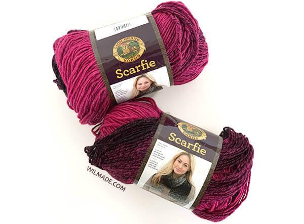 Scarfie lionbrand yarn - free poncho crochet pattern