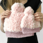 Fluffy Winter muts - gratis haakpatroon