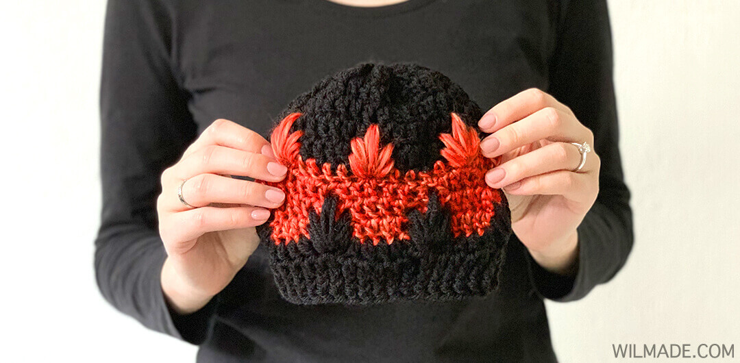 free crochet pattern - great crochet hat for kids and toddlers