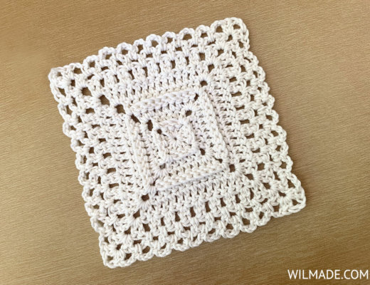 Love Your Granny Square pattern by Wilmade - FREE