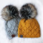 Crochet Amber Beanie hat by the Easy Design