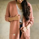 Rosewood Cardigan by All About ami