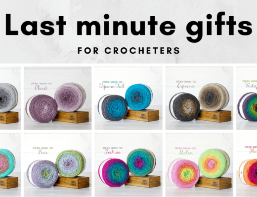Last Minute Gifts For Crocheters - gradient yarn