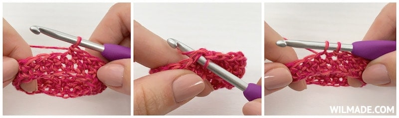 invisible color change - photo and video crochet tutorial