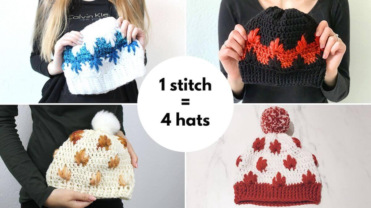extreme drop stitch hats
