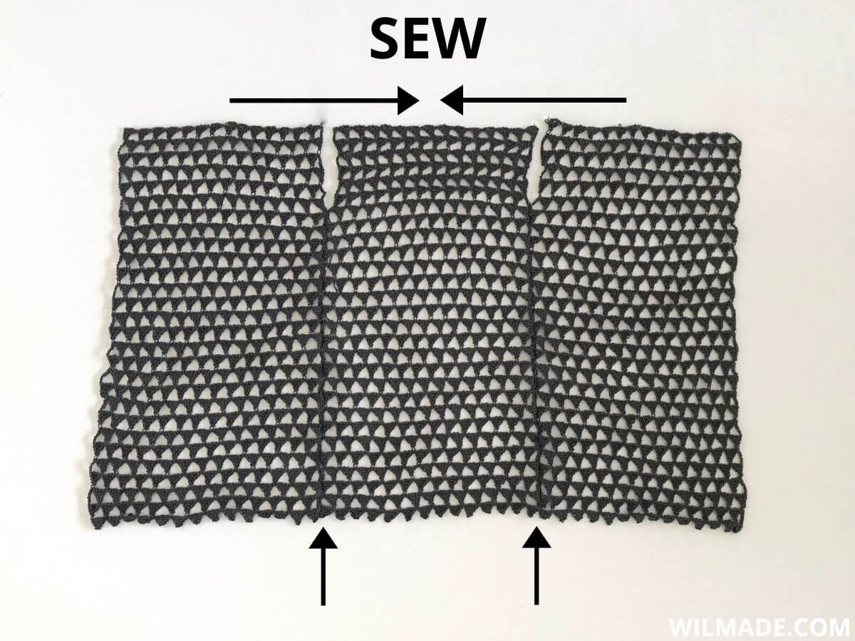 How to sew the Beach Cardi Cover Up